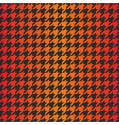 Houndstooth seamless dark gradient pattern vector