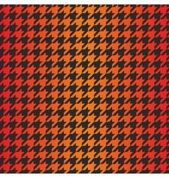 Houndstooth seamless dark gradient pattern vector
