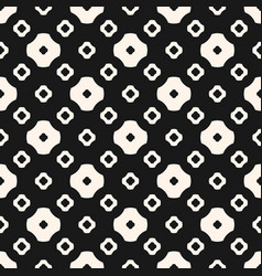 seamless pattern different simple floral shapes vector image