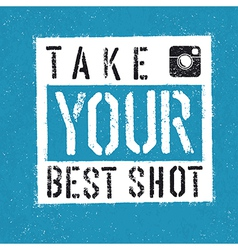 Take your best shot vector