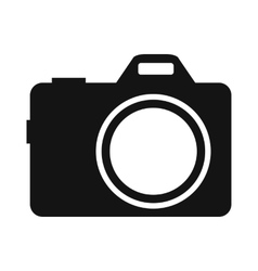 Camera simple icon vector