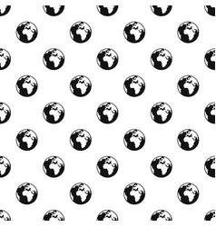 Earth globe pattern vector