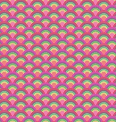 Japanese wave seamless patter vector