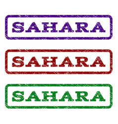 Sahara watermark stamp vector