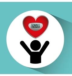 Measuring cardiovascular rhythm vector