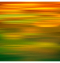abstract green yellow motion blur background vector image vector image