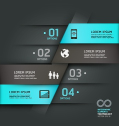 Abstract infographics communication technology vector