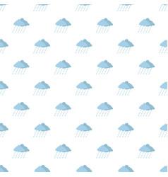 cloud rain storm pattern seamless vector image vector image