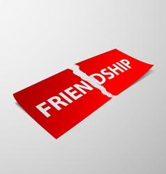 Friendship stock vector