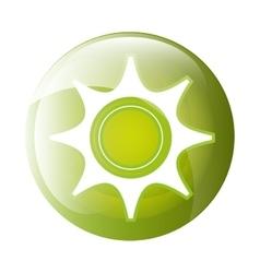 Gear icon symbol design vector image vector image