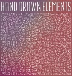 Hand drawn vector image vector image