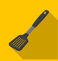 Kitchen spatulabbq single icon in flat style vector