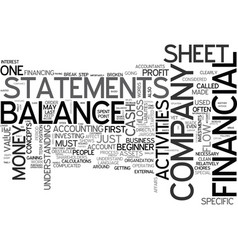 Why financial statements are important a beginner vector