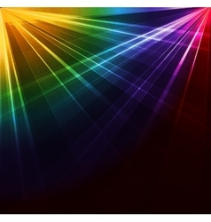 Spotlight background vector