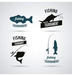 Fishing graphic design vector