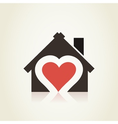Love house3 vector image vector image