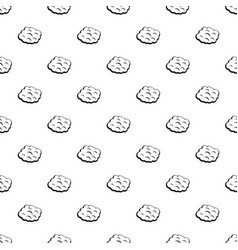 Round cloud pattern vector