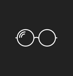 Sunglasse icon eyewear flat vector