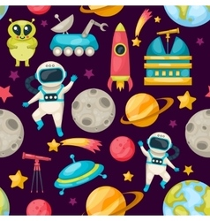 Space background pattern vector