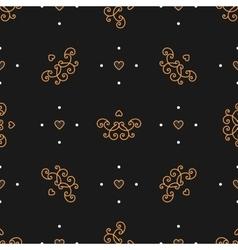 Trendy seamless pattern art deco style elegant vector