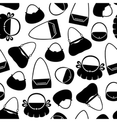 Handbag pattern vector
