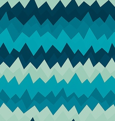 Marine zigzag seamless pattern with grunge effect vector