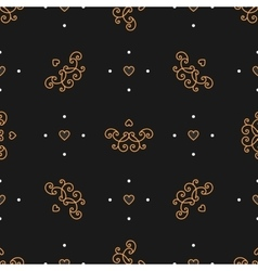 Trendy seamless pattern Art Deco style Elegant vector image vector image
