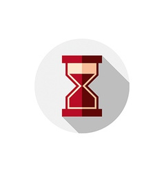 Time conceptual stylized icon old-fashioned vector