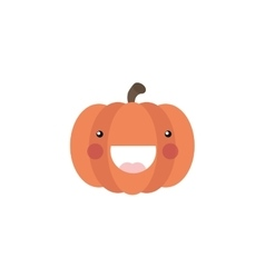 Abstract delicious pumpkin vector