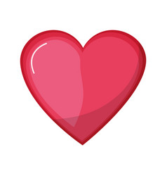 Nice heart and love symbol design vector