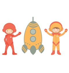 Cosmic kids vector