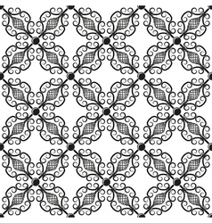 Wrought iron pattern vector