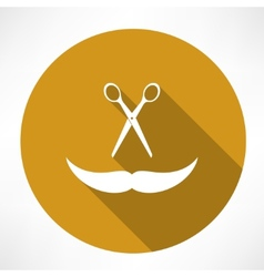 Barbershop icon vector