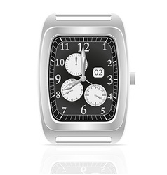 wristwatch 05 vector image