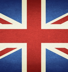 Grunge flag of united kingdom vector