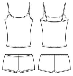 Underwear vector