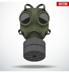 Retro gas mask vector image