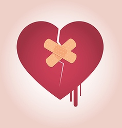 3452corazonrotoheart broken icon4 vector