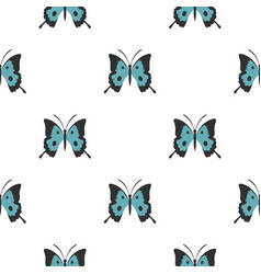 Butterfly pattern seamless vector