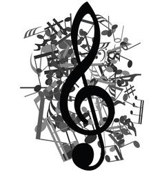 Musical design vector