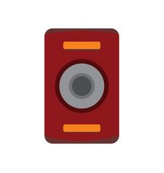 Simple audio speaker studio graphic vector