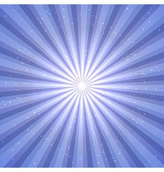 Abstract background with sun rays vector image