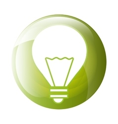 Bulb icon symbol design vector image