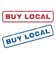 Buy local rubber stamps vector