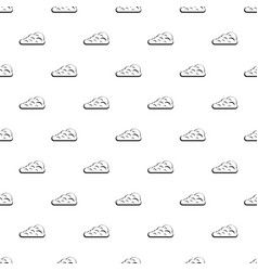 Cumulus cloud pattern vector