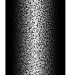 Gradient Dotted Background on Black Vertical vector image vector image