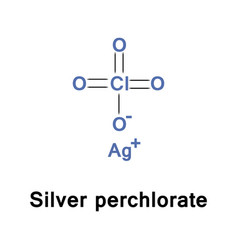 Silver perchlorate inorganic vector