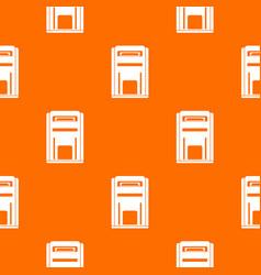 Square post box pattern seamless vector