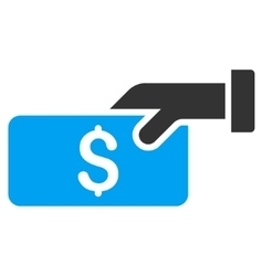 Pay flat icon vector