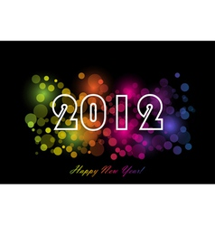 2012 - new year background vector